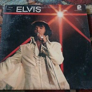 Vintage Elvis Vinyl Record